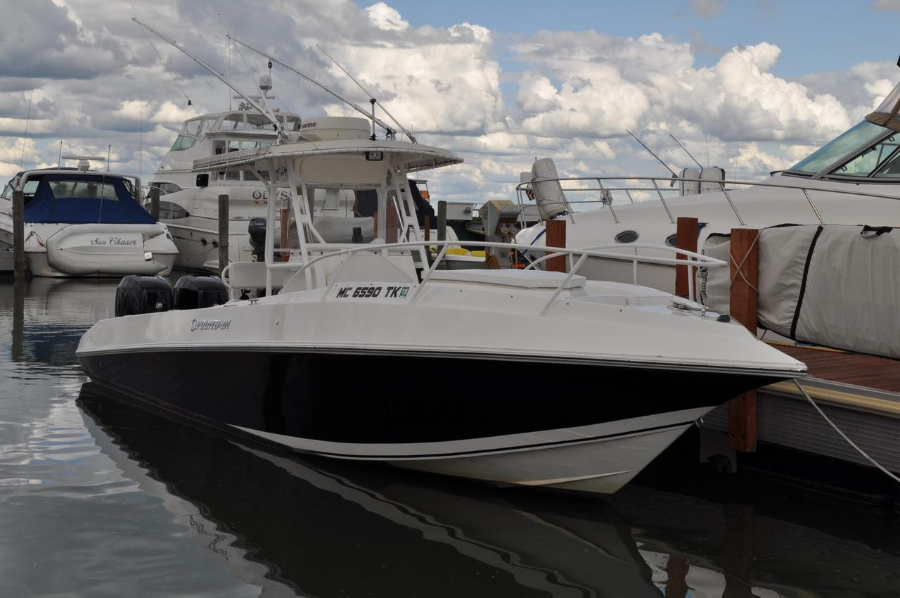 2006 used fountain 31 tournament edition31 tournament for Used fishing boats for sale in michigan
