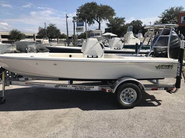 New Hewes 16 Redfisher Flats Fishing Boat For Sale