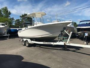 Used Tidewater 216CC Adventure Center Console Fishing Boat For Sale