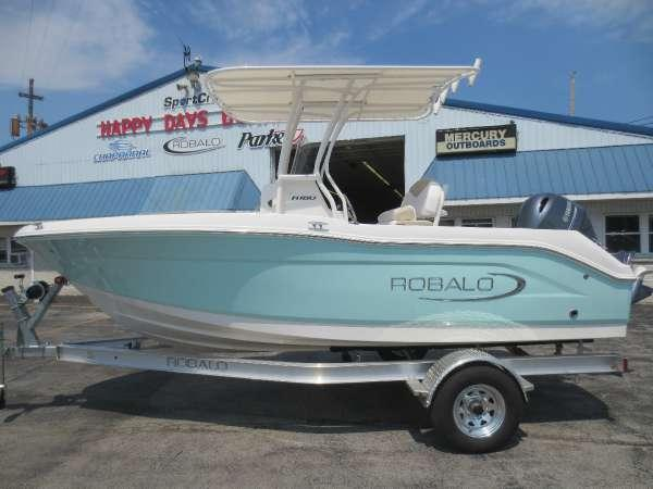 2018 new robalo r180 ccr180 cc center console fishing boat for Fishing boats for sale in ohio