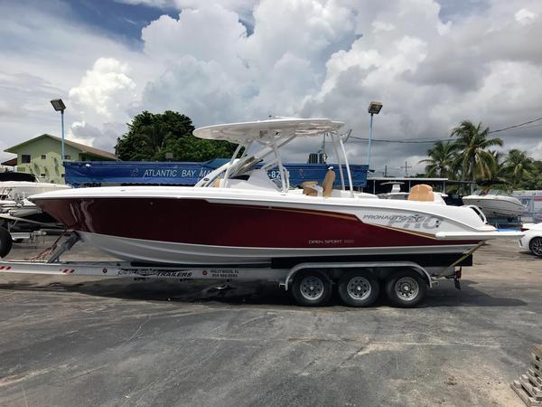 New Pronautica Open Sport 880 Cruiser Boat For Sale