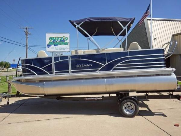 New Sylvan 820 Mirage Fish 4PT Pontoon Boat For Sale