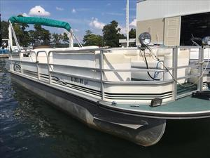Used Landau Elite 255 Pontoon Boat For Sale