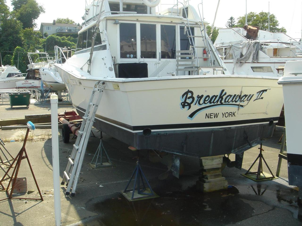 1980 used viking 40 convertible40 convertible fishing boat for Fishing boats for sale nj