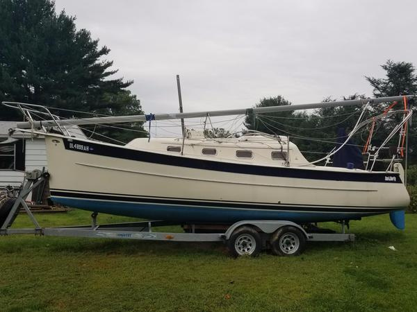 Used Hake / Seaward 26rk. Cruiser Sailboat For Sale