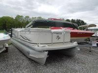 Used Aqua Patio 240 Pontoon Boat For Sale