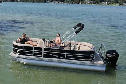 New South Bay 220 CR Pontoon Boat For Sale