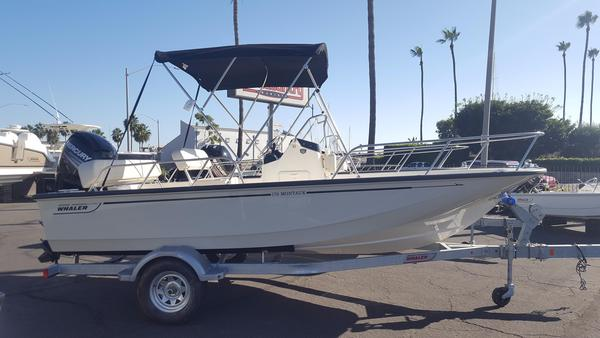 New Boston Whaler 170 Montauk170 Montauk Center Console Fishing Boat For Sale