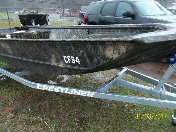 New Crestliner 1650 Retriever Jon Deluxe Jon Boat For Sale