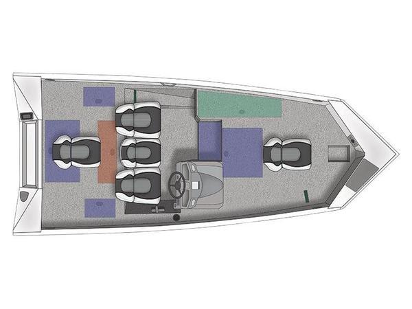 New Crestliner VT 17 Freshwater Fishing Boat For Sale