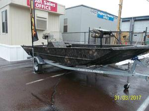New Crestliner 1860 Retriever SC Jon Boat For Sale