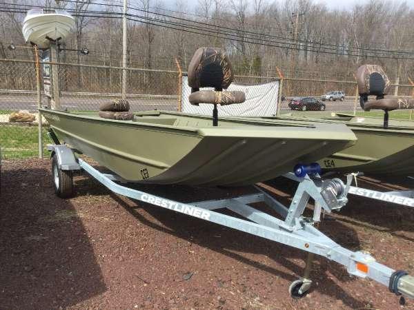 New Crestliner 1756 Retriever Jon Boat For Sale