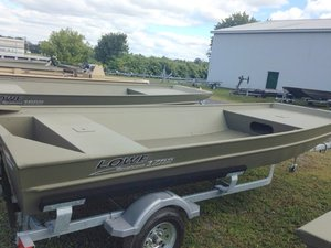 New Lowe Roughneck 1755 Big River: Side Console Jon Boat For Sale
