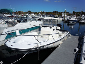Used Boston Whaler 22 Dauntless Bay Boat For Sale