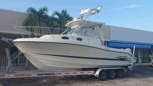 Used Hydra Sports 2800 Walkaround Fishing Boat For Sale