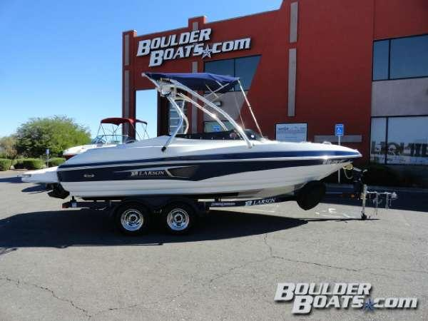 Used Larson Senza 206 IO Bowrider Boat For Sale