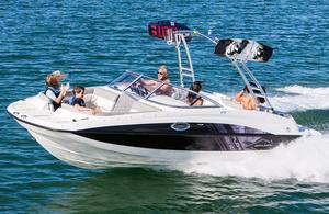 Used Bayliner 215 Deck Boat Bowrider Boat For Sale