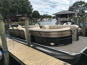 Used Misty Harbor 2585 Biscayne Bay CU Pontoon Boat For Sale