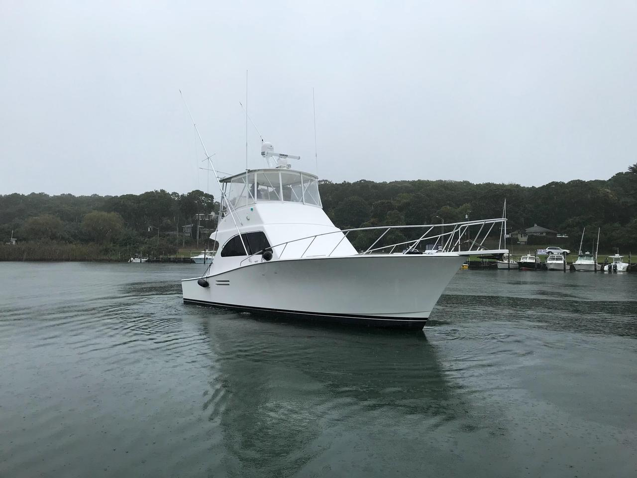 2001 Used Post 42 Convertible Fishing Boat For Sale