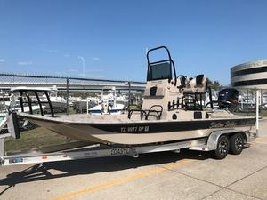 Used Shallow Stalker Cat 240 Pro Center Console Fishing Boat For Sale