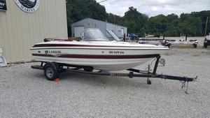 Used Larson 180 Ski N' Fish I/O Bowrider Boat For Sale