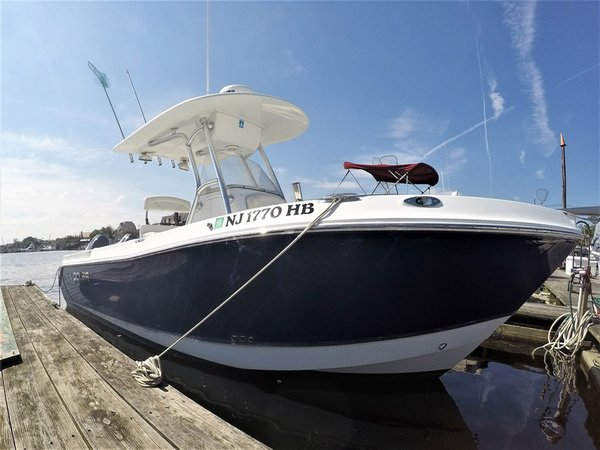 Used Polar 2300CC Center Console Fishing Boat For Sale
