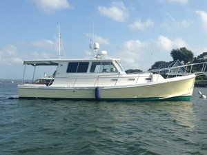 Used Nauset Downeast Trawler Downeast Fishing Boat For Sale