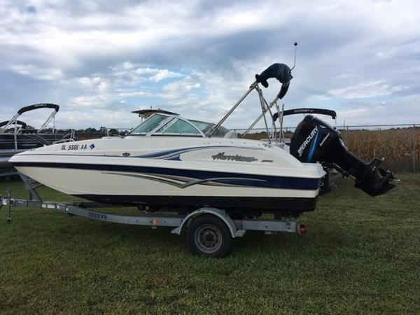 Used Hurricane SD 187 Sun Deck Boat For Sale