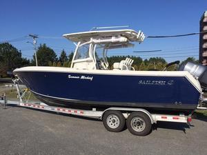 Used Sailfish 27' CENTER CONSOLE Center Console Fishing Boat For Sale