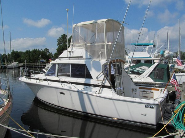 Used Bertram Sport Fish Flybridge Boat For Sale