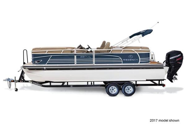 New Regency 220 LE3 Pontoon Boat For Sale