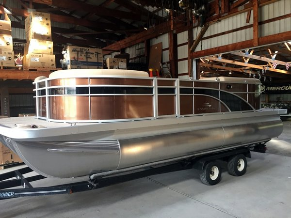 New Bennington 21 SSRX SPS TRITOON Pontoon Boat For Sale