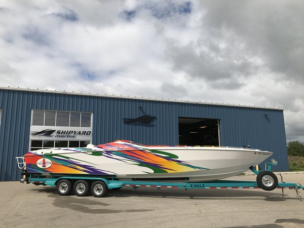 Used Cigarette Racing 38 Top Gun High Performance Boat For Sale