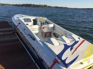 Used Baja 33 Outlaw Fresh Water High Performance Boat For Sale