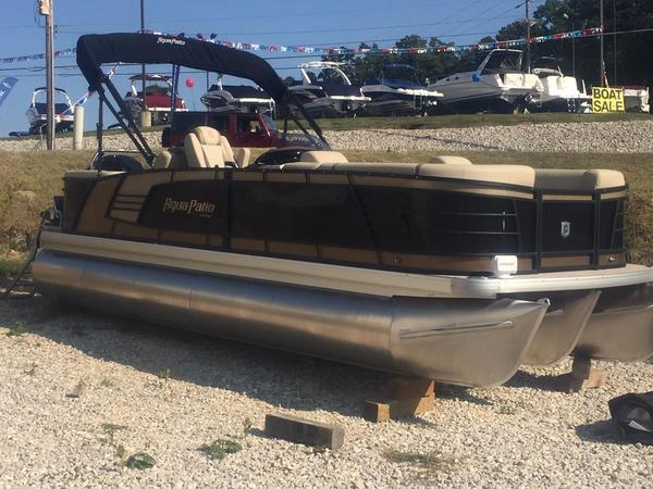 New Aqua Patio 235 SR235 SR Pontoon Boat For Sale