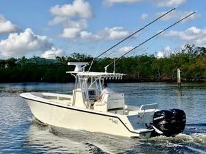 Used Sea Vee 320Z Open Fisherman Saltwater Fishing Boat For Sale