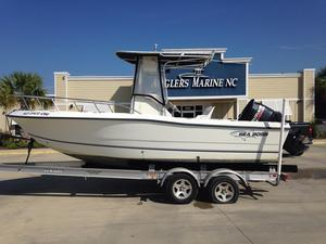 Used Sea Boss 210CC Center Console Fishing Boat For Sale