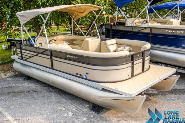Used Crest II 230 L Pontoon Boat For Sale