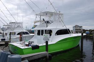 Used Custom Carolina 48' Buddy Harris SF Convertible Fishing Boat For Sale