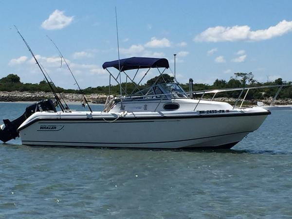 Used Boston Whaler 21 Conquest Cruiser Boat For Sale