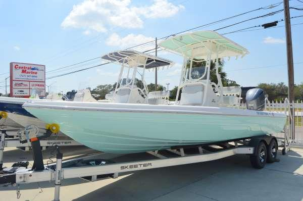 New Skeeter SX240 Center Console Fishing Boat For Sale
