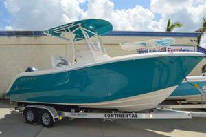 New Cobia 220 CC Center Console Fishing Boat For Sale