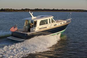 New Sabre 42 Salon Express Downeast Fishing Boat For Sale
