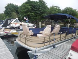 Used Sanpan 22 Pontoon Boat For Sale