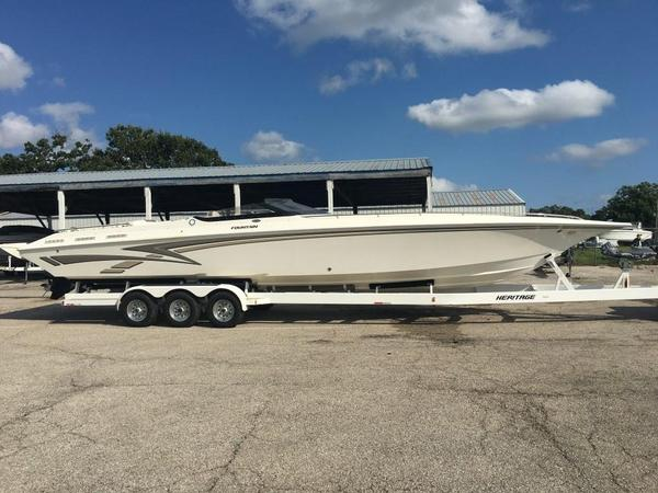Used Fountain 38 Fever High Performance Boat For Sale
