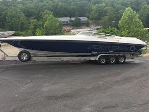Used Fountain 38 Lightning Cruiser Boat For Sale