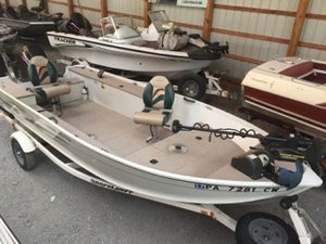 New Alumacraft LUNKER 165 TILLER Sports Fishing Boat For Sale