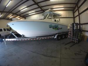 Used Everglades 325 Center Console Saltwater Fishing Boat For Sale