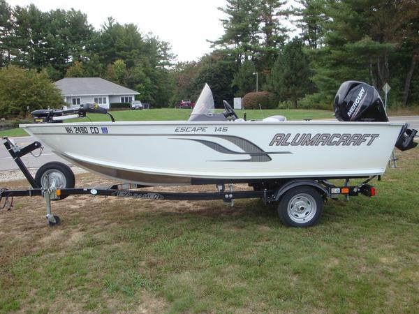 Used Alumacraft Escape 145 CS Aluminum Fishing Boat For Sale