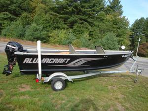 Used Alumacraft V14 Utility Boat For Sale